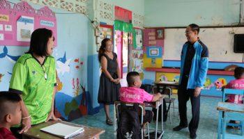 สพป.อุดรธานี เขต 2 เยี่ยมสถานศึกษา ติดตามงานนโยบายสู่การปฏิบัติ